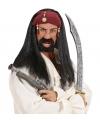 Pirates of the Caribien heren pruik