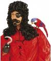Piraten pruik kapitein Haak